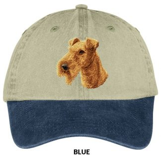 Irish Terrier Hat - Embroidered