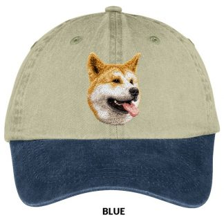 Akita Hat - Embroidered (Red)