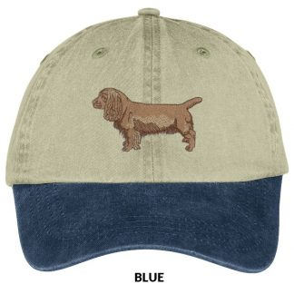 Sussex Spaniel Hat - Embroidered