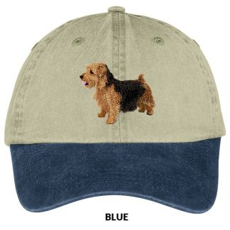 Norfolk Terrier Hat - Embroidered