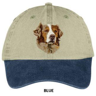 Red Merle Australian Shepherd Hat - Embroidered