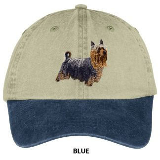 Silky Terrier Hat - Embroidered