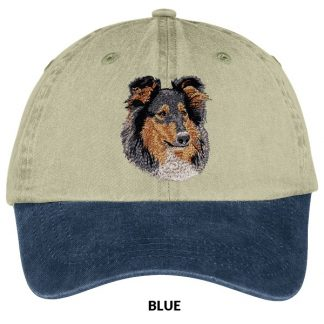 Collie Hat - Embroidered (Tri)