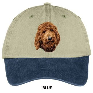 Goldendoodle Hat - Embroidered (Red)