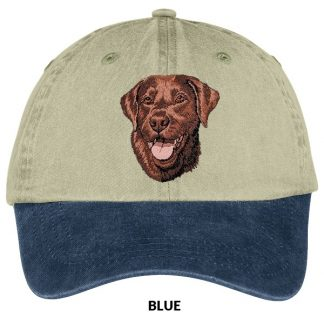 Chocolate Lab Hat - Embroidered