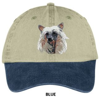 Chinese Crested Hat - Embroidered