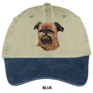 Brussels Griffon Hat - Embroidered