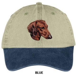 Dachshund Hat - Embroidered