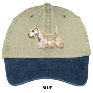 Scottish Terrier Hat - Embroidered (Wheaten)