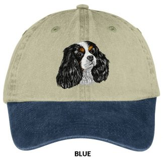 Tri Cavalier Spaniel Hat - Embroidered