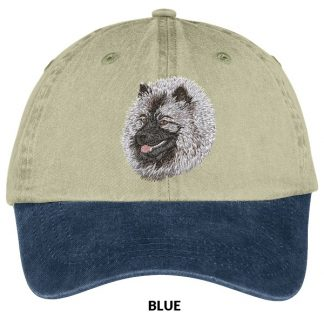 Keeshond Hat - Embroidered