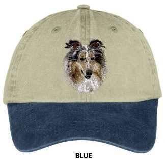 Collie Hat - Embroidered (Blue Merle)