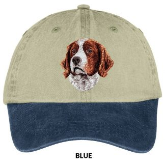 Irish Setter Hat - Embroidered (Red White)