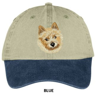 Norwich Terrier Hat - Embroidered