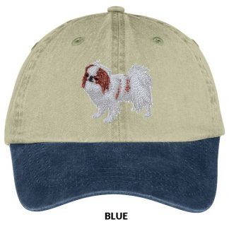 Japanese Chin Hat - Embroidered (Red)