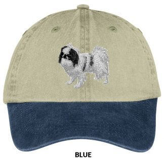 Japanese Chin Hat - Embroidered (Black)