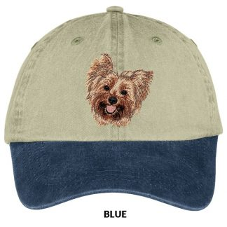 Yorkshire Terrier Hat - Embroidered