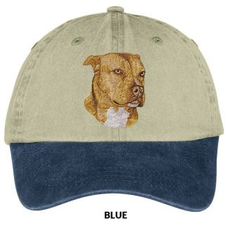 Pitbull Terrier Hat - Embroidered