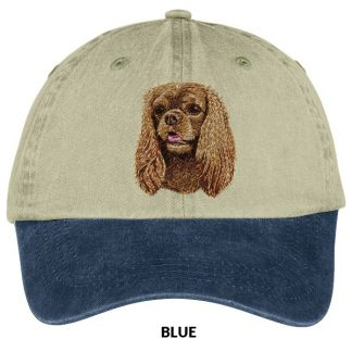 Ruby Cavalier Spaniel Hat - Embroidered