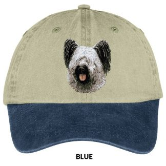 Skye Terrier Hat - Embroidered