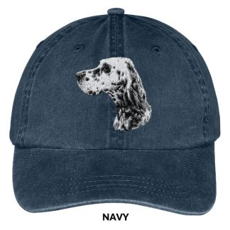 English Setter Hat - Embroidered II