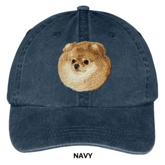 Pomeranian Hat - Embroidered II
