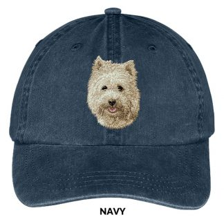 Cairn Terrier Hat - Embroidered II