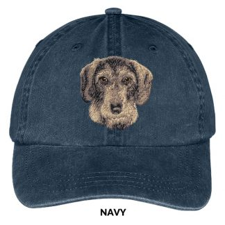 Wirehaired Dachshund Hat - Embroidered II