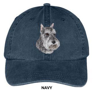 Schnauzer Hat - Embroidered II