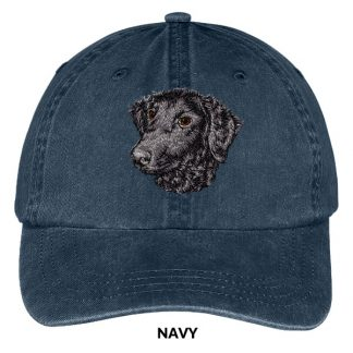 Curly Coated Retriever Hat - Embroidered II