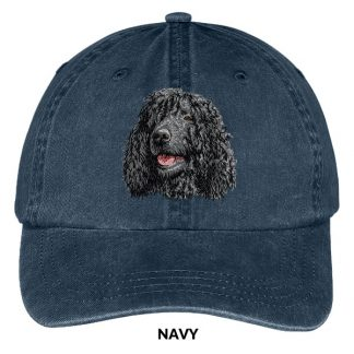 Irish Water Spaniel Hat - Embroidered II