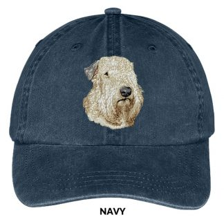 Soft Coated Wheaten Hat - Embroidered II