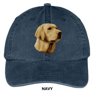 Yellow Lab Hat - Embroidered II