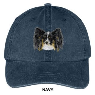 Papillon Hat - Embroidered II (Tri)