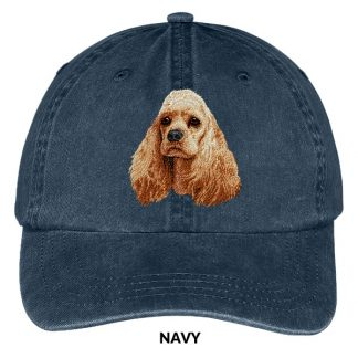 Cocker Spaniel Hat - Embroidered II