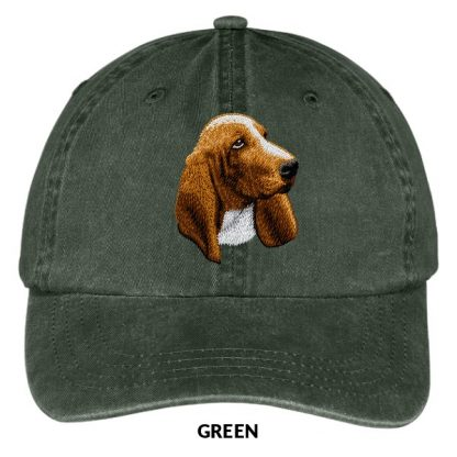 Basset Hound Hat - Embroidered II