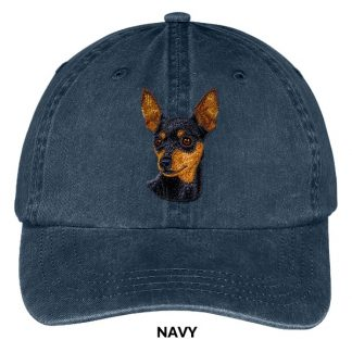 Miniature Pinscher Hat - Embroidered II