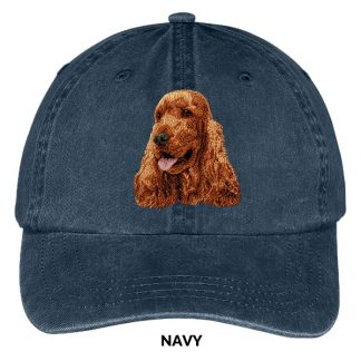 English Cocker Spaniel Hat - Embroidered II