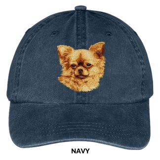 Chihuahua Hat - Embroidered II (Longhair)