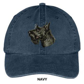 Scottish Terrier Hat - Embroidered II
