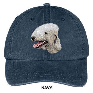Bedlington Terrier Hat - Embroidered II