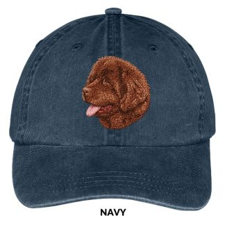 Newfoundland Hat - Embroidered II (Brown)
