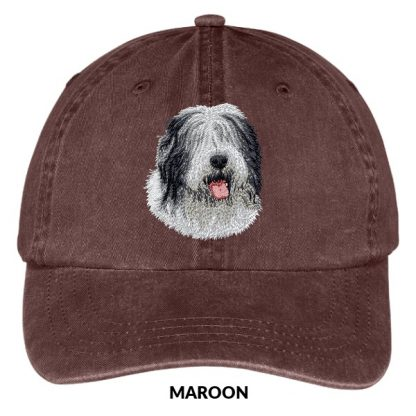 Old English Sheepdog Hat - Embroidered II