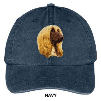 Afghan Hound Hat - Embroidered II
