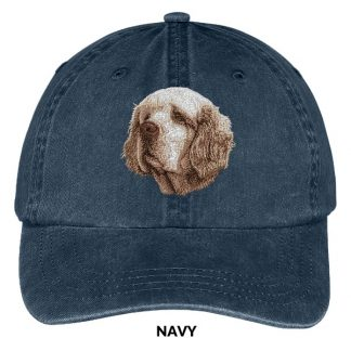 Clumber Spaniel Hat - Embroidered II