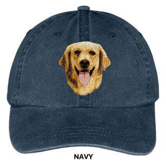 Golden Retriever Hat - Embroidered II
