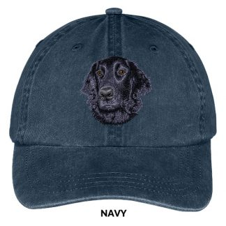 Flat Coated Retriever Hat - Embroidered II