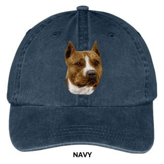 Staffordshire Terrier Hat - Embroidered II