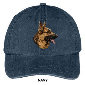 German Shepherd Hat - Embroidered II (Profile)
