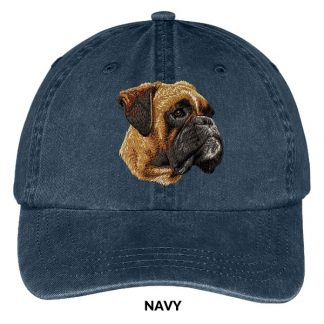 Boxer Hat - Embroidered II (Uncropped)